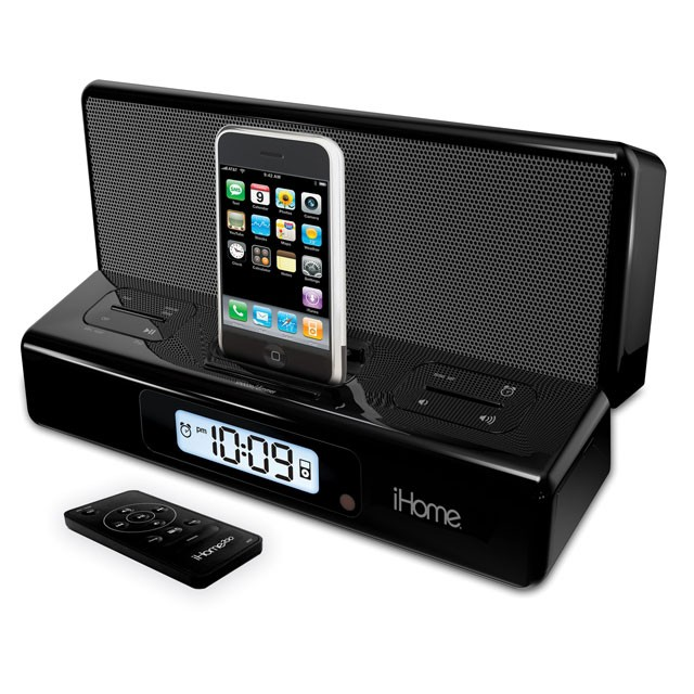 Ihome ip27 portable iphone speaker and alarm clock review for Ihome speaker
